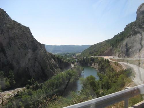 Viagem entre o aeroporto de Girona e Andorra; Agosto 2009