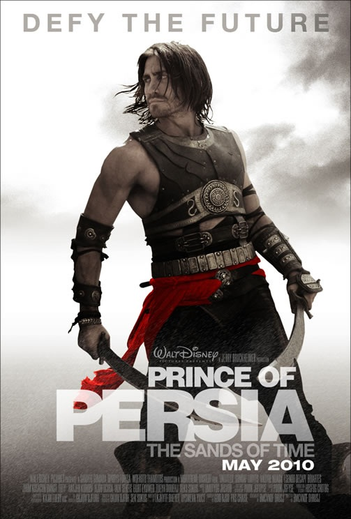 walt disney prince of persia sands of time movie poster