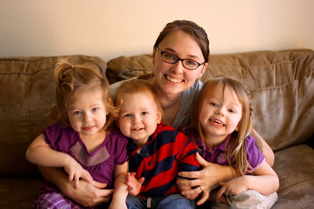 shelly and kids