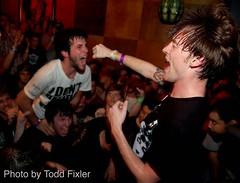 Polar Bear Club - Jimmy Stadt (TheUniversalCynic) Tags: music punk florida live gainesville fl 2009 polarbearclub jimmystadt natemorris toddfixler emmettmenke thefest8