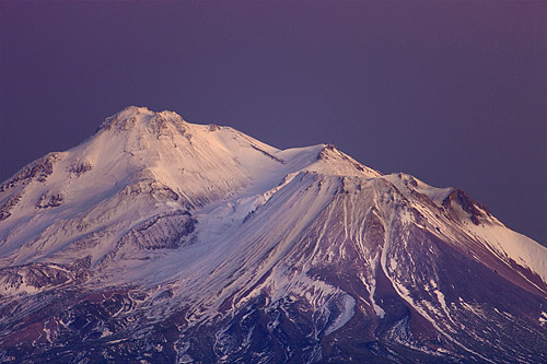 Mt. Shasta at Dusk