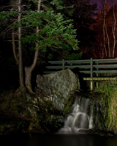 Bowring Park Grotto at Night
