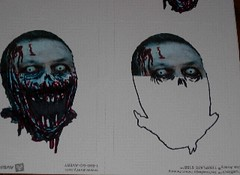 zombie grows (andres musta) Tags: andres musta zombie drawing sketch animation face sticker stickerart art teeth gore stickers zas squad zombieartsquad adhesive andresmusta slaps