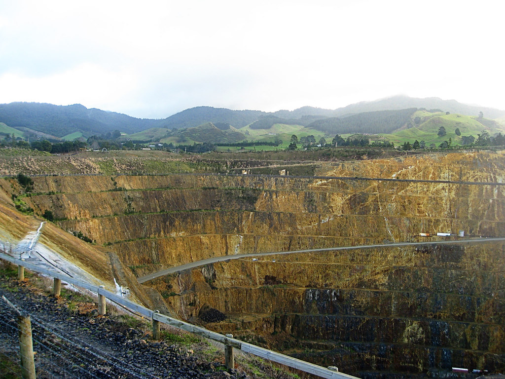 Gold mine at Waihi
