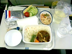 """Hamburger"" Lunch, JAL 721"