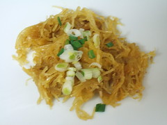 Moroccan Spiced Spaghetti Squash