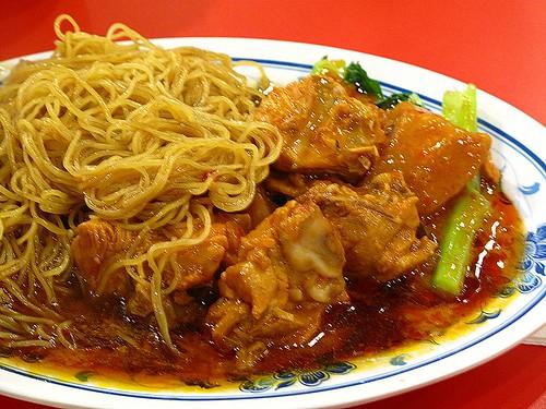 IMG_5009 Pork Rib Noodle ,排骨面