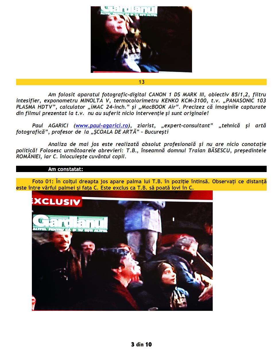 """Paul AGARICI: Analiza filmului """"Traian BĂSESCU la Ploieşti, lovind un copil""""-3"""