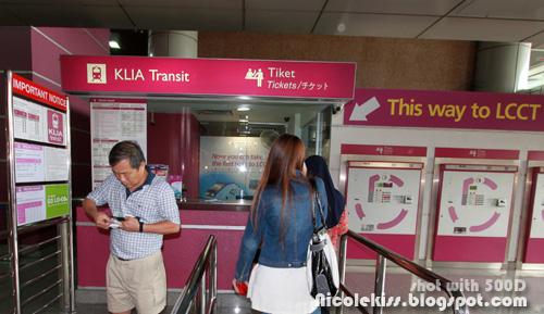 klia transit counter