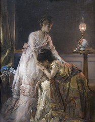 After the Ball, 1874 (Maulleigh) Tags: museum ball stevens after alfred met metropolitan 1874