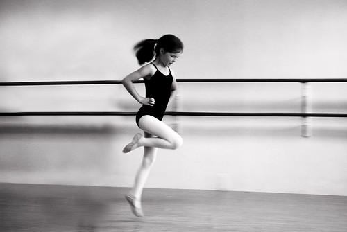 LillyBalletDancing_BW