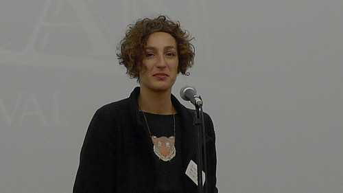 Special Jury Award winner Monica Gallab