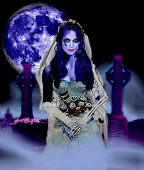 "Keira Knightley as Tim Burton's ""Corpse Bride"" (DarkJediKnight) Tags: wedding zombie gothic goth animation horror undead keiraknightley timburton corpsebride"