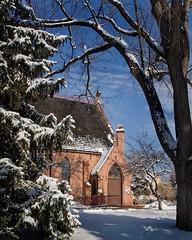 4D7H0049final (DU Internal Photos) Tags: trees winter snow ice campus evans colorado outdoor chapel scenics denvercolo