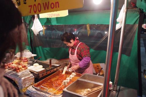 路邊攤 韓國泡麵