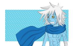 Ika-ha, nacido do vento - personagem (DanielMafra) Tags: rpg illustrator dd ilustração vetor elemental genasi