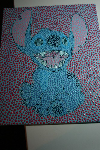 Stitch dot painting - commission
