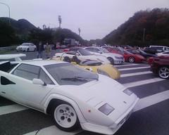 高級外車の展示会のような岸和田SA