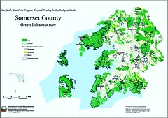 greenprinting rural and ecological resources in Somerset County, MD (by: MD DNR)