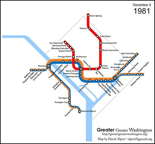 DC's Metro system in 1981 (by: David Alpert)
