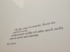 Vorbild (Postsumptio) Tags: white writing germany print europe frankfurt museumfrmodernekunst