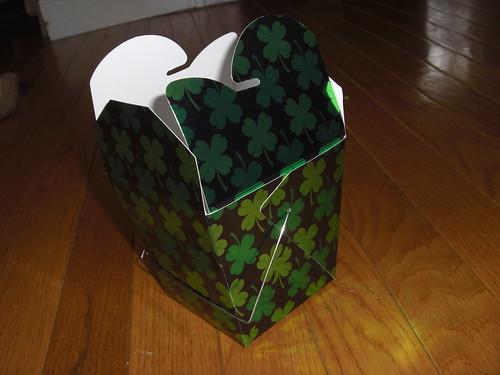 Empty St Pattys Day Box