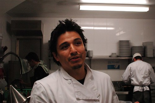Danny Parreno, executive chef