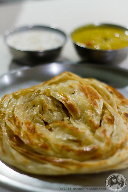 Parotta With Lots Of Butter
