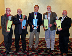 Left to Right: Eric Simonsen, Don Clark, Rich Whitney, Tom McNab - all winners of the 2011 Montana BetterBricks Awards (NEEA's BetterBricks Initiative) Tags: betterbricksawards northwesternenergy energyefficiencyawards