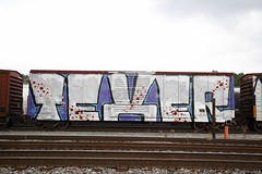 Texer (Revise_D) Tags: texer graffiti graff freight fr8heaven fr8 benching benchingsteelgiants revised