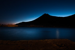 Last glare (luigig75) Tags: mountain favignana sicily sicilia italy italia efs1022mmf3545usm 70d canon longexposure night tonnara egadi egads seascape nightscape nightskyphotography landscape