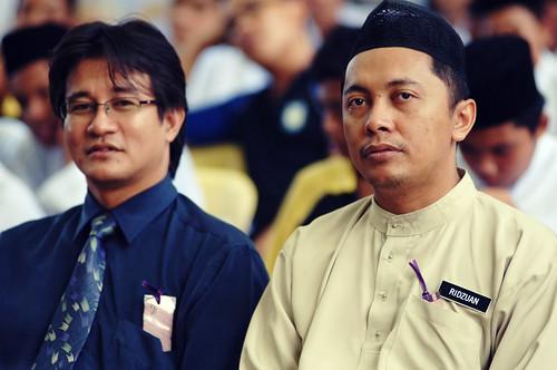 Sensei Nerawi & Cikgu Ridhuan by Roslan Tangah (aka Rasso).