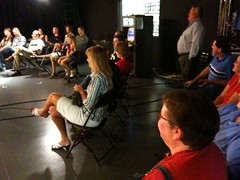 Topeka tweetup @ wibw studios