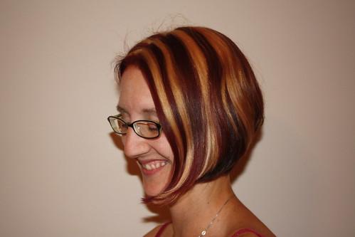 New hair style.