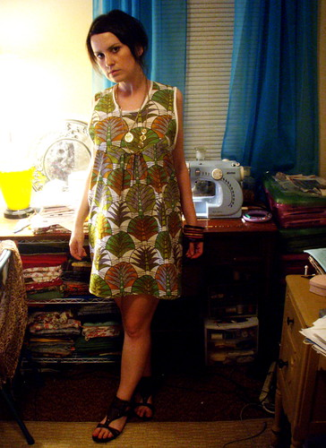 new dress - july 8 2009
