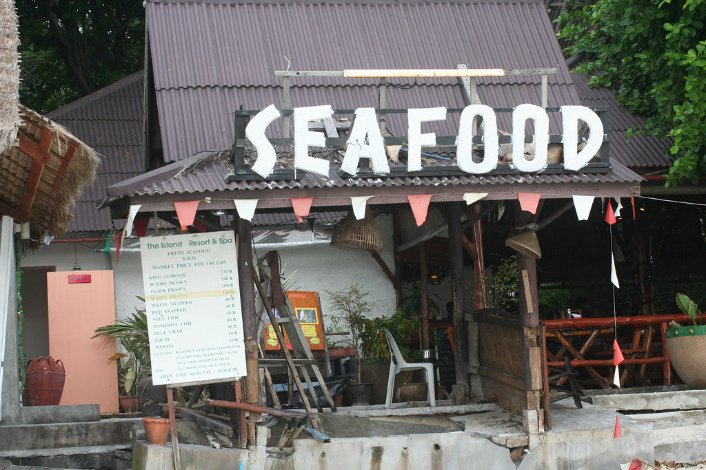 Small restaurant at Chaveng beach, Koh Samui