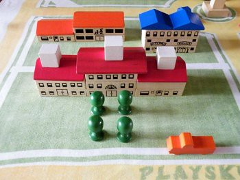 Playskool Village:School, Restaurant and City/Police Buildings