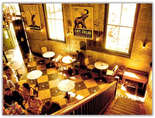 Lights in Espresso Café