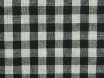 black and white gingham
