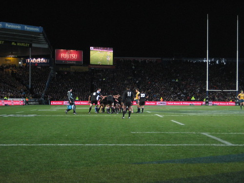 All Blacks won against Wallabies