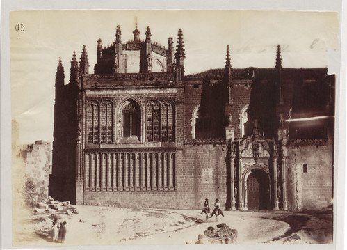 Monasterio de San Juan de los Reyes en 1883. Fotografía de Alfred Dismorr. The National Archives, Kew, Richmond, Surrey