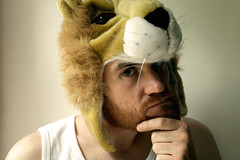 Can I carry this off? (archidave) Tags: portrait me self beard ginger lion rawr shameless nemeanlion archidave youloon