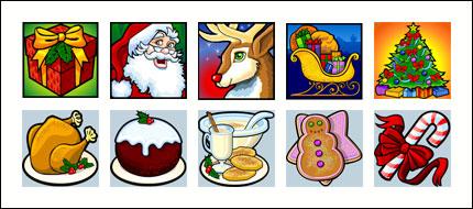 free HoHoHo slot game symbols