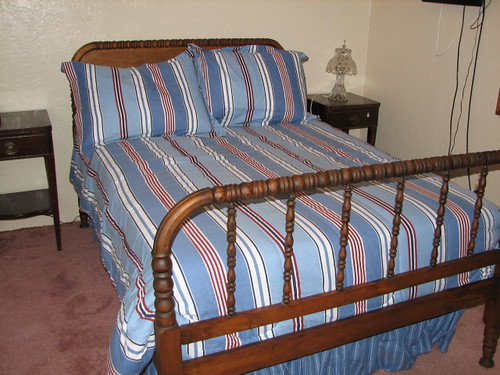 Antique Bed Frame Custom Made Mattress