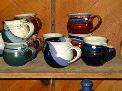 "IMG_4231 (Claire DeLand ~ ""GA Music Maker"") Tags: friends roadtrip pottery g9 whitecounty markofthepotter northeastga motp handcraftedpottery batesvillega august9th2009"