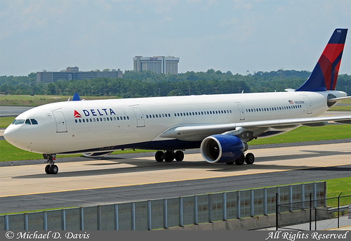 Delta Air Lines (Northwest Airlines) Airbus A330-323X (N805NW)