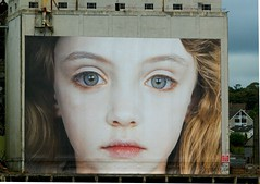 Last Child (Athena's Pix) Tags: city ireland girl festival youth portraits mouth hair nose eyes artist fringe exploitation innocence waterford austrian gottfriedhelnwein thelastchild