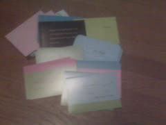 Step 1:  Grab Some Notecards