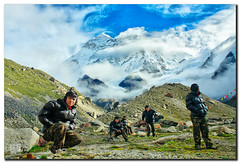 SP at Makalu Base Camp