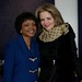 Dean Toni-Marie Montgomery with Renée Fleming